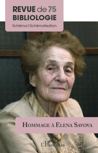 Couverture Hommage à Elena Savova