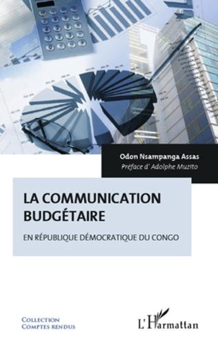 Couverture La communication budgétaire en République démocratique du Congo