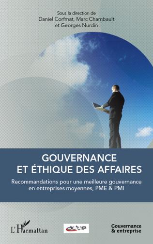 Couverture Gouvernance et éthique des affaires