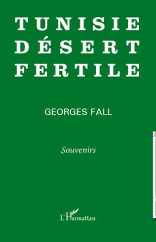 Couverture Tunisie désert fertile