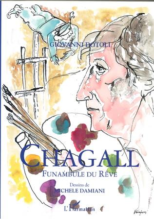Couverture Chagall, Funambule du Rêve