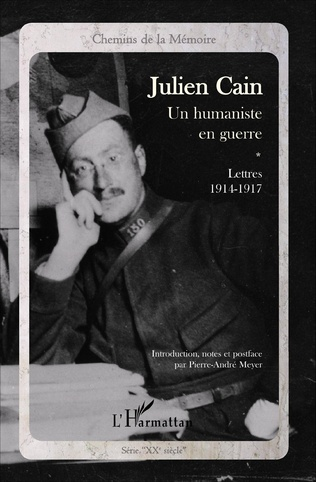 Couverture Julien Cain, un humaniste en guerre