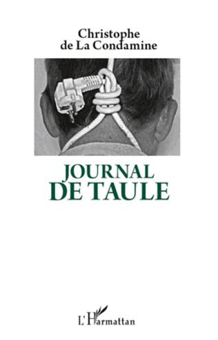 Couverture Journal de Taule