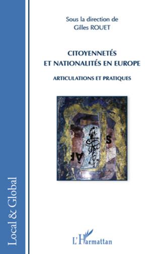 Couverture Citoyennetés et nationalités en Europe