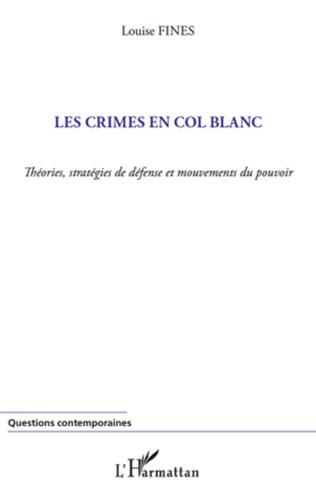 Couverture Les crimes en col blanc