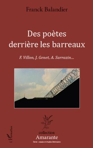 Couverture Des poètes derrière les barreaux