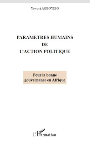 Couverture Paramètres humains de l'action politique