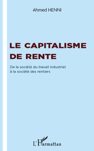 Couverture Le capitalisme de rente