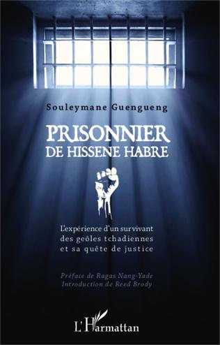 Couverture Prisonnier de Hissène Habré