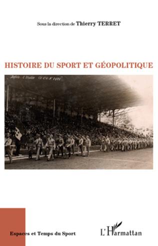 Couverture Histoire du sport et géopolitique