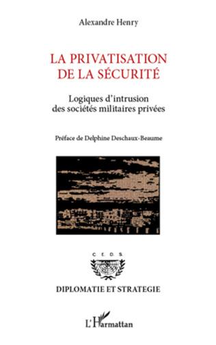 Couverture La privatisation de la sécurité