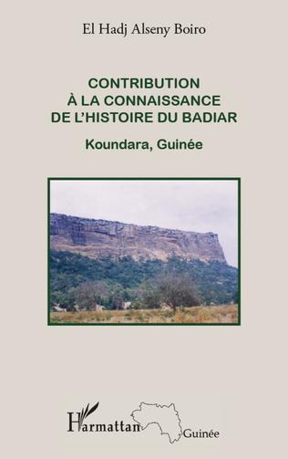 Couverture Contribution à la connaissance de l'histoire du Badiar