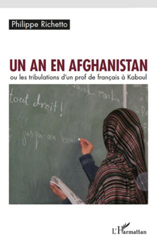 Couverture Un an en Afghanistan