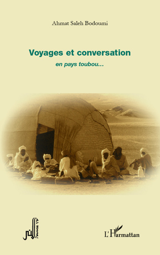 Couverture Voyages et conversation en pays toubou...