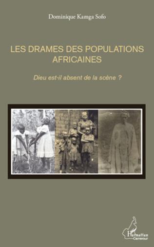 Couverture Les drames des populations africaines