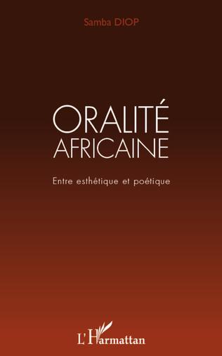 Couverture Oralité africaine
