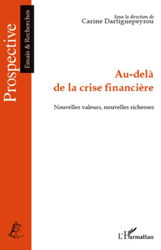 Couverture Au-delà de la crise financière