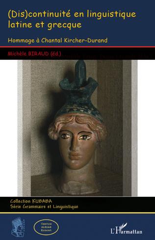 Couverture (Dis)continuité en linguistique latine et grecque