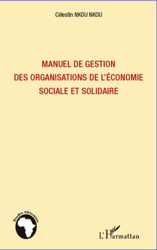 Couverture Manuel de gestion des organisations de l'économie sociale et solidaire