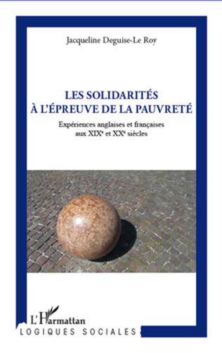 Couverture Solidarité à l'épreuve de la pauvreté