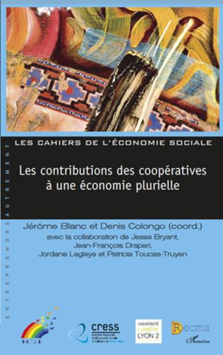 Couverture Les contributions des coopératives à une économie plurielle