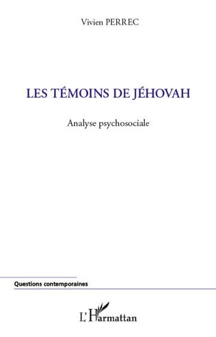 Couverture Les témoins de Jéhovah
