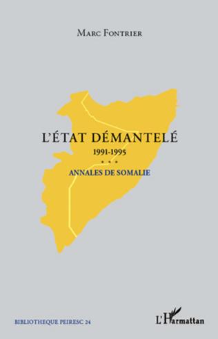 Couverture L'Etat démantelé 1991-1995