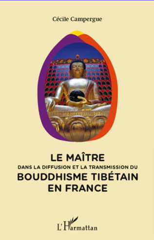 Couverture Maitre dans la diffusion et la transmission du bouddhisme tibétain en France