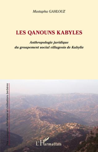 Couverture Les qanouns kabyles