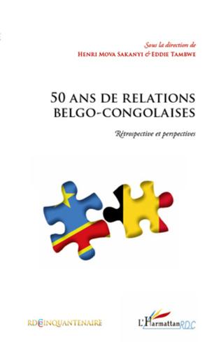 Couverture 50 ans de relations belgo-congolaises