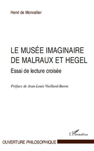 Couverture Le musée imaginaire de Malraux et Hegel