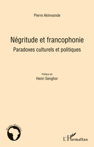 Couverture Négritude et francophonie