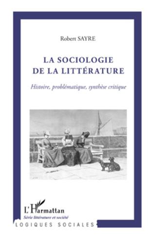 Couverture La sociologie de la littérature