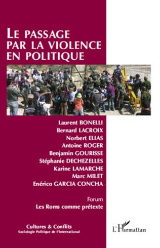 Couverture Le passage par la violence en politique