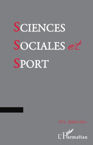 Couverture Sciences Sociales et Sport n° 4