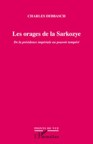Couverture Les orages de la Sarkozye