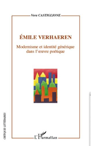 Couverture Emile Verhaeren