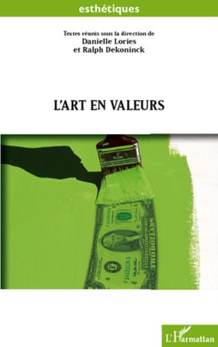 Couverture L'art en valeurs