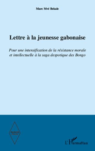 Couverture Lettre à la jeunesse gabonaise