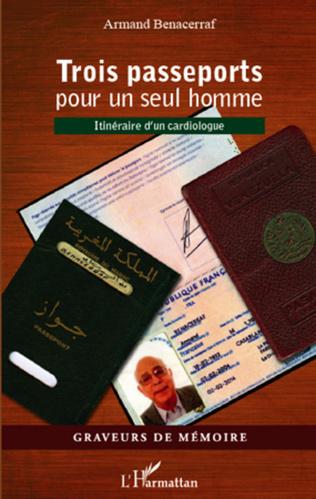 Couverture Trois passeports pour un seul homme