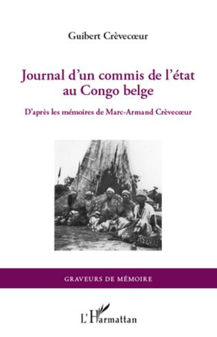 Couverture Journal d'un commis de l'Etat au Congo belge