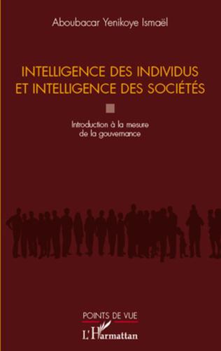 Couverture Intelligence des individus et intelligence des sociétés