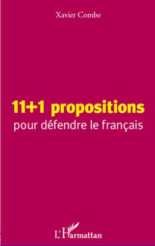 Couverture 11 + 1 propositions pour défendre le français