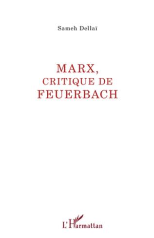 Couverture Marx, critique de Feuerbach