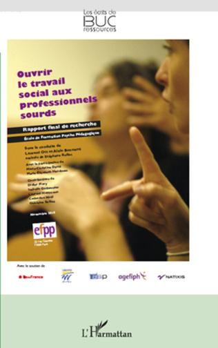 Couverture Ouvrir le travail social aux professionnels sourds