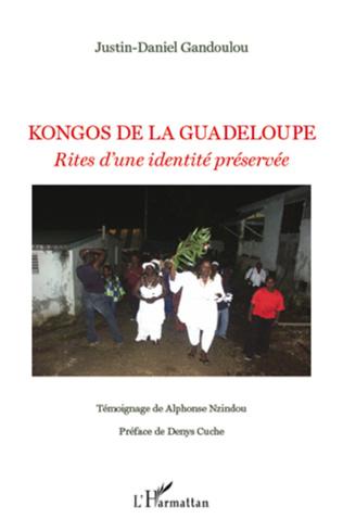 Couverture Kongos de la Guadeloupe