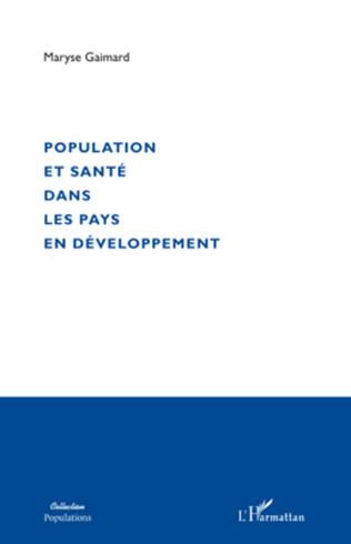 Couverture Population et santé dans les pays en développement