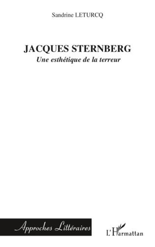 Couverture Jacques Sternberg