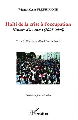 Couverture Haïti de la crise à l'occupation