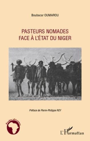 Couverture Pasteurs nomades face à l'Etat du Niger